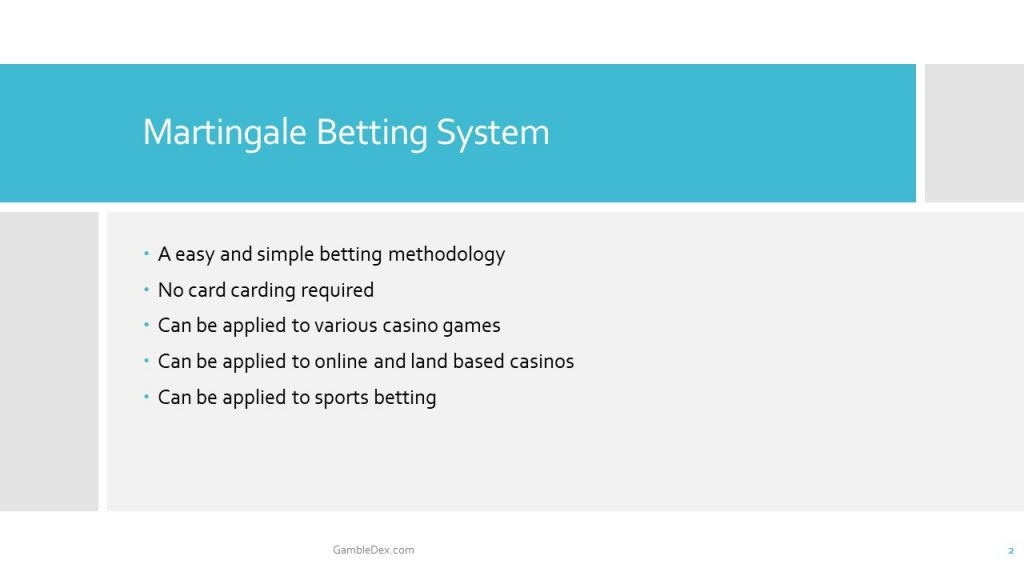 Martingale Betting System Info-Slides 2
