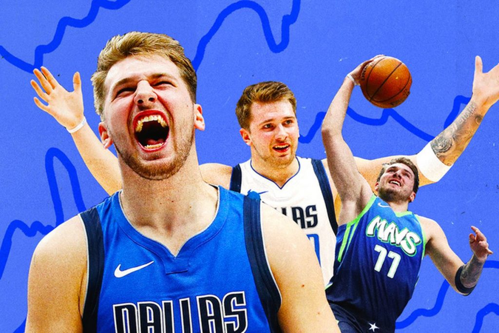 Doncic dominates NBA with skills from MVPs of past and present 1