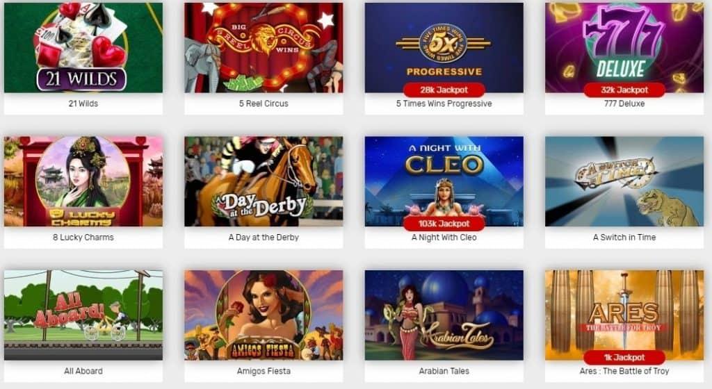 Michigan Online Casino Slots 25