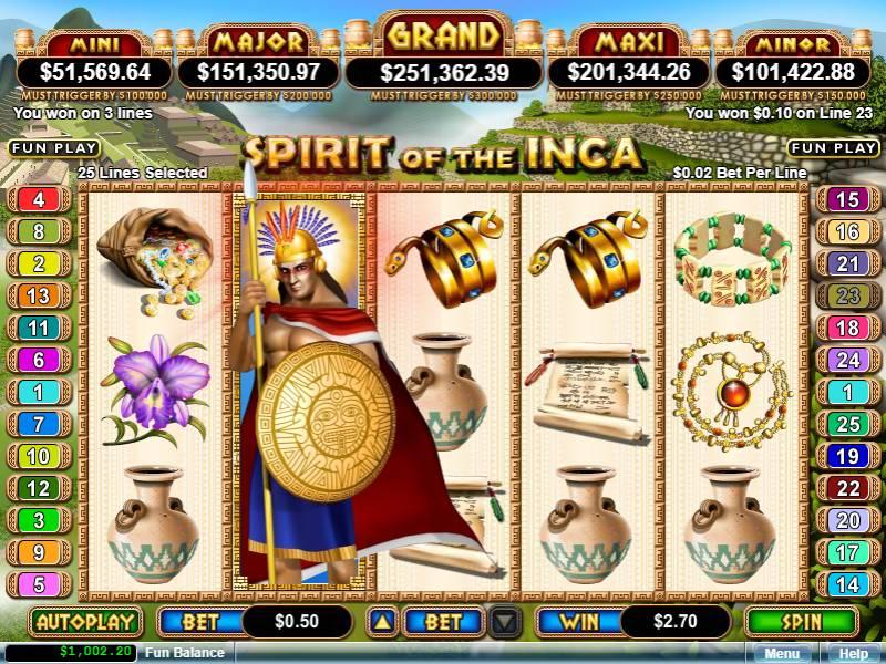 Michigan Online Casino Slots 22
