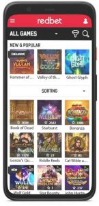 Redbet Mobile App 8